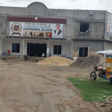 Forces School Joharabad Campus Building Is Near Completion