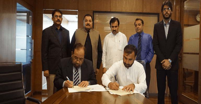 MOU Signing Ceremony Of Forces School Franchise At Mardan Campus