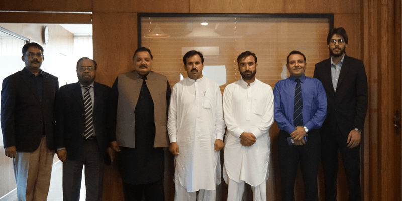 MOU Signing Ceremony At Mardan Campus