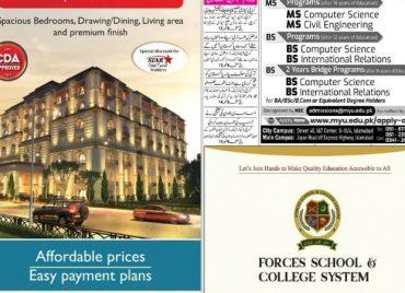 Newspaper Ad Jang Rawalpindi Edition