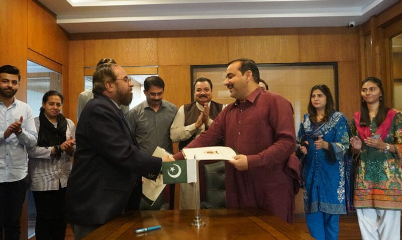 Franchise MOU Signing for Forces School Basirpur Campus in District Okara