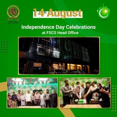 Independence Day Celebrations at FSCS Head Office Lahore