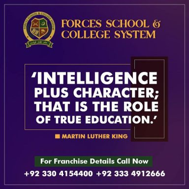 Intelligence plus character