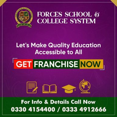 Join hands with Forces School & College System