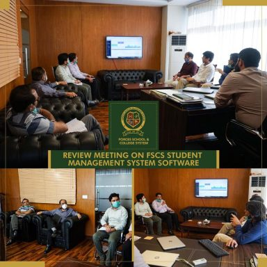 Management meetup to review FSCS Student Management System Software