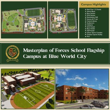 Masterplan of Forces Schools