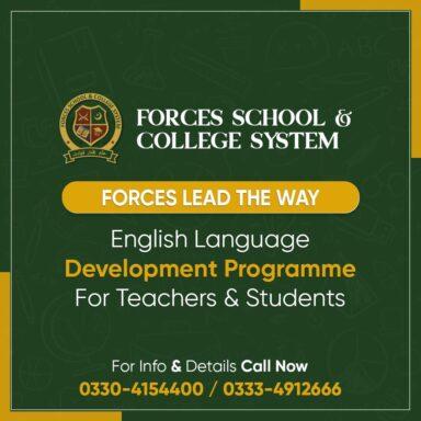 English Language Development Programme for both the Students & Teachers