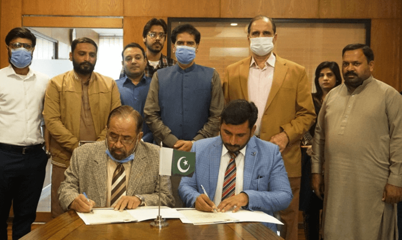 MOU signing ceremony of Forces School Franchise Sir Mohammad Bashir Campus Hafizabad
