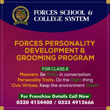 Forces Personality Development & Grooming Program