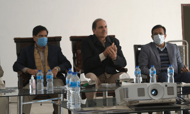 Forces School & College System Top Management's Visit to Jouharabad Campus