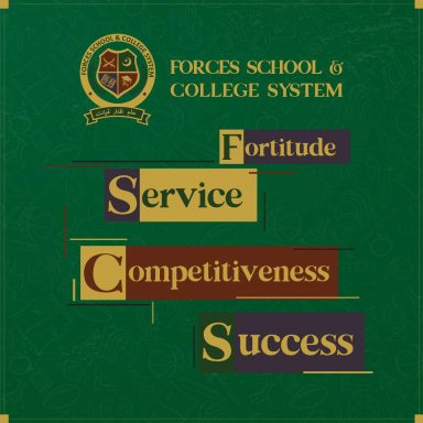Forces School instills the attributes of success among its students in an enabling educational environment