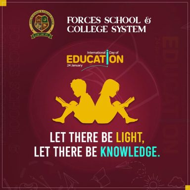 Let there be light, let there be knowledge