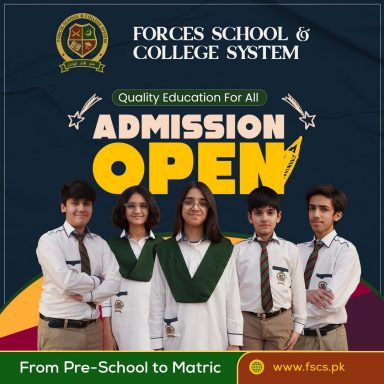 Admission Open!