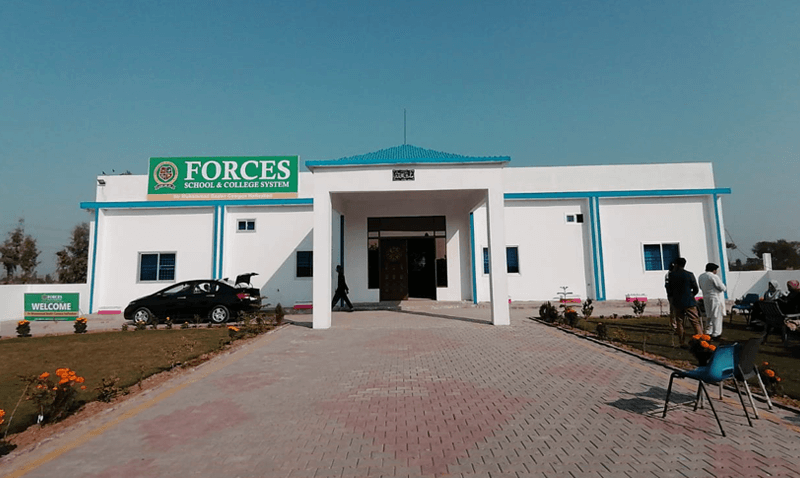 Forces School Hafizabad Campus Near Completion