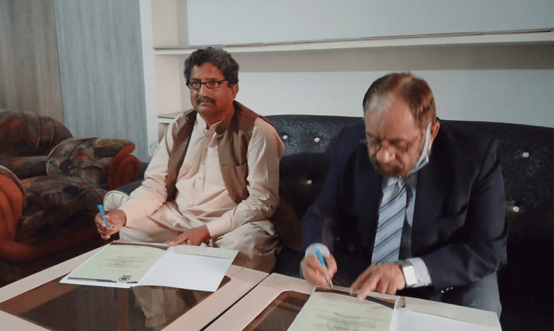 MOU Signing for Forces School Layyah Campus