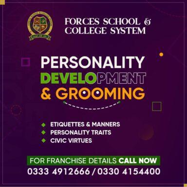 Personality Development & Grooming Program!