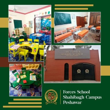 Alhamdulilah - Forces School System Shahibagh Campus is all set to spread the light of knowledge!