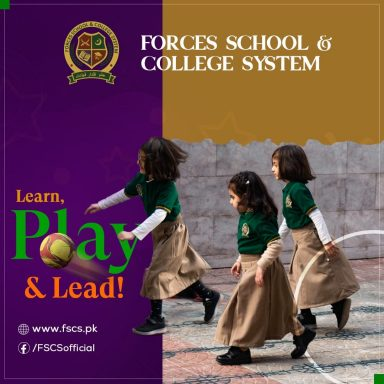 Forces School - the place to learn, play & lead!