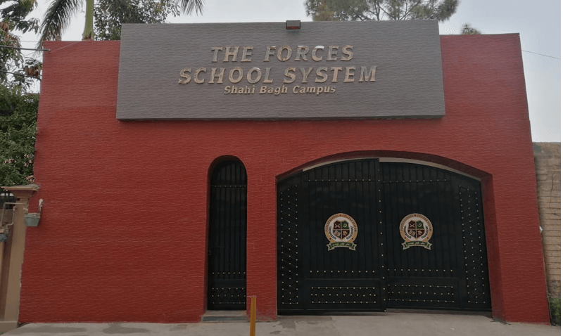 Forces School System Shahibagh Campus