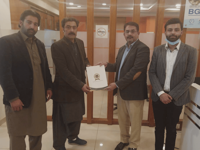 Mou signing for Abbottabad Campus