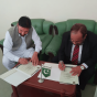 MOU Signing for Akora khattak Campus