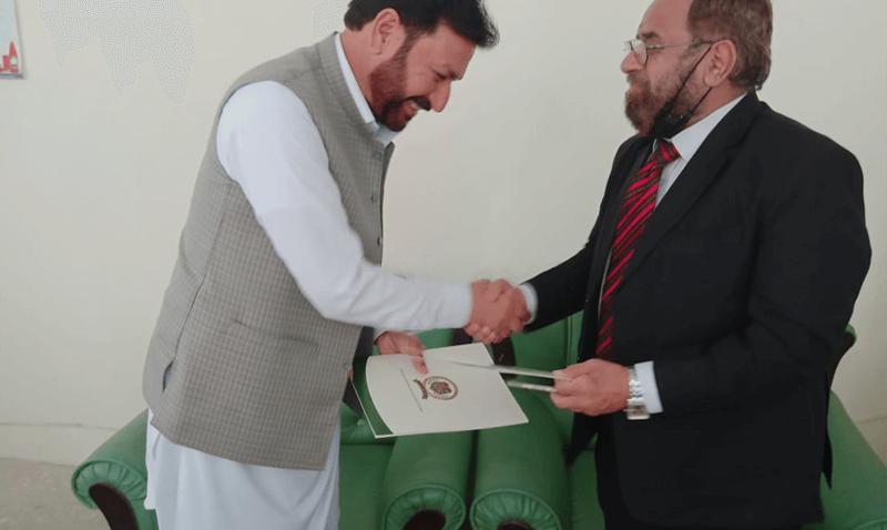 MOU Signing for Akora khattak Campus