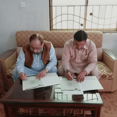MOU Signing for kror Lal Essan Campus