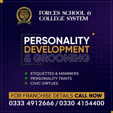 Personality Development & Grooming.