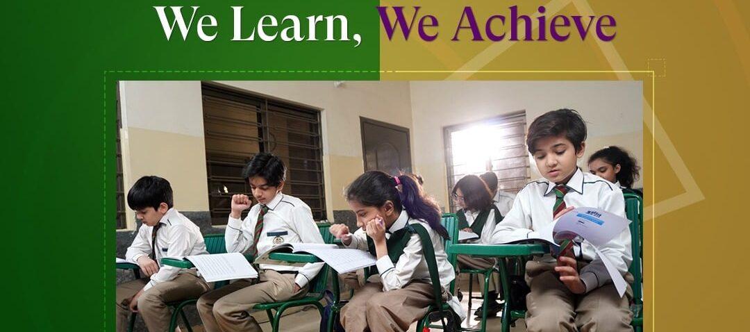 We Learn, We Achieve