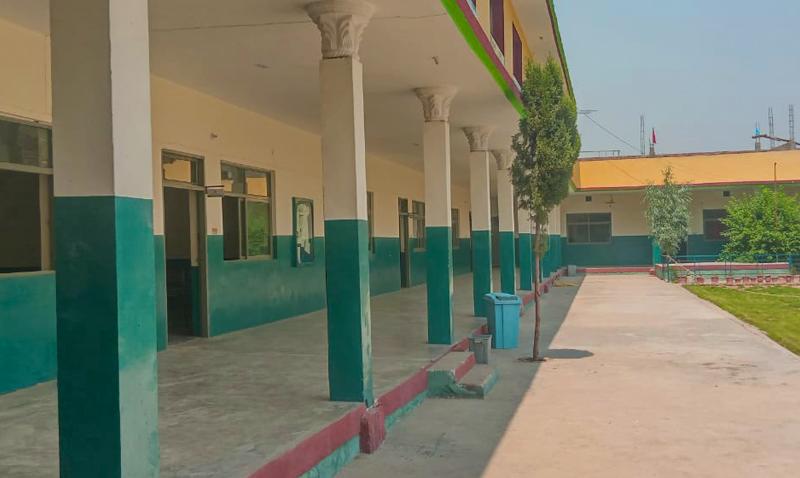 Mardan Campus Building View