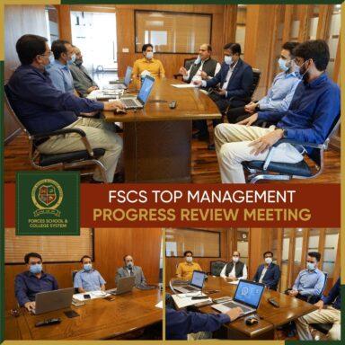 Top Management Progress Review Meeting!