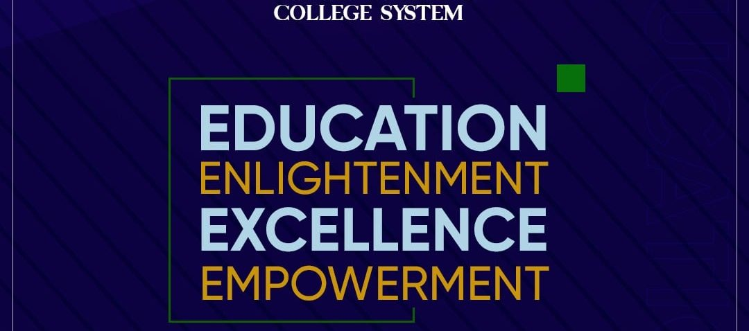 Education, Enlightenment, Excellence, Empowerment.