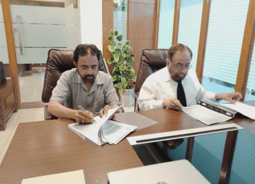 MOU Signing Ceremony for Bin Razia Campus