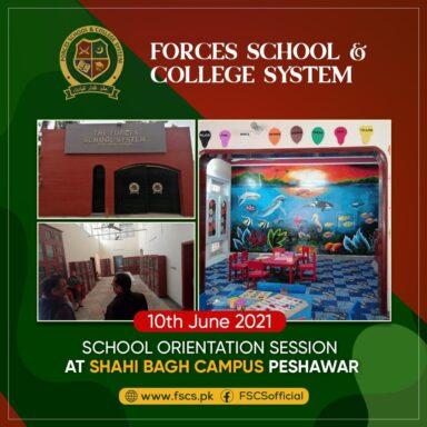 School Orientation Session