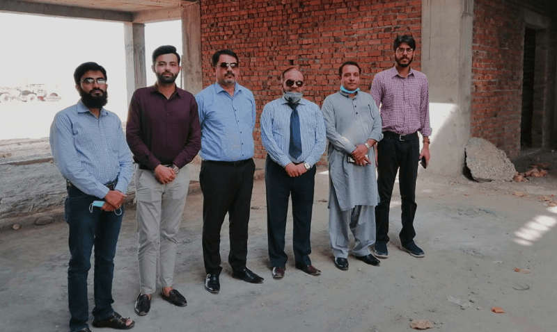 Visit of the Flagship Campus by FSCS Head Office Team