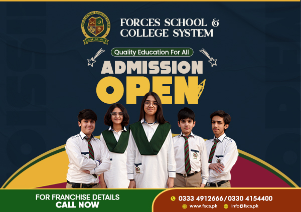 Admission Open for web