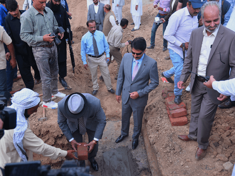 Inauguration Ceremony at Blue Town Sapphire