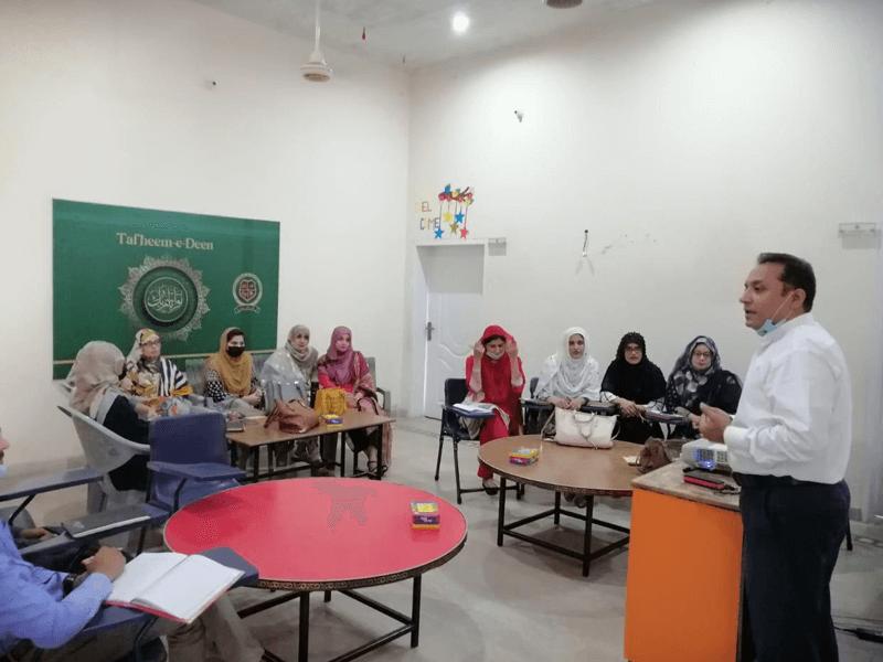 Orientation & Training at Sir Muhammad Bashir Campus