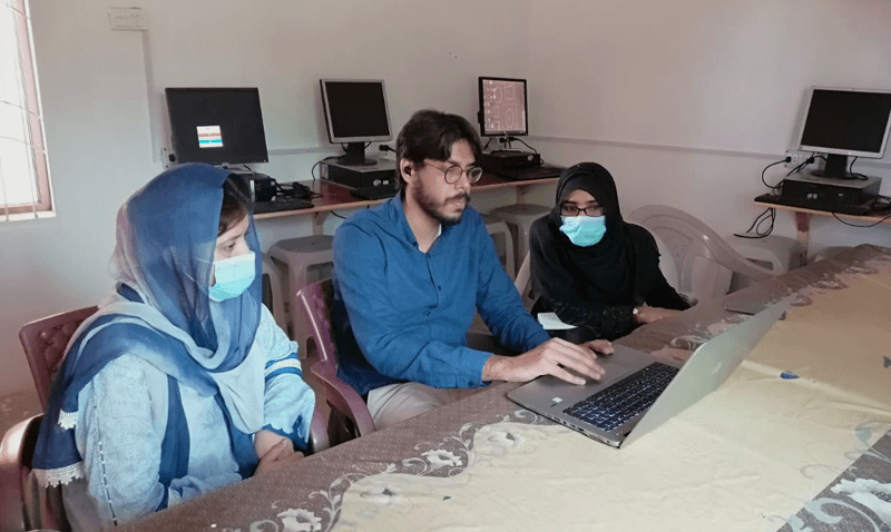 Portal Training Session by Team Forces at Bin Razia Campus
