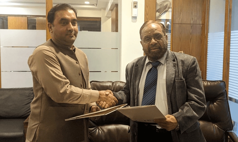 MOU Signing Ceremony for Swabi Campus