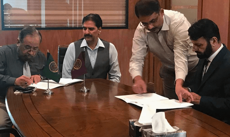 MOU Signing for Forces School Paris Road Sialkot Campus